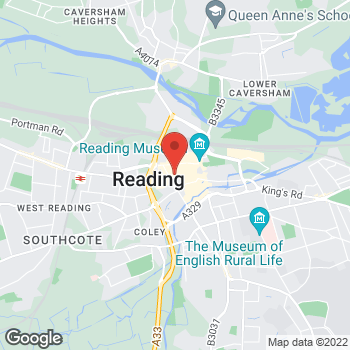 Map of Foot Locker Reading, Berkshire at 83 Broad Street, Reading, Berkshire,  RG1 2AP