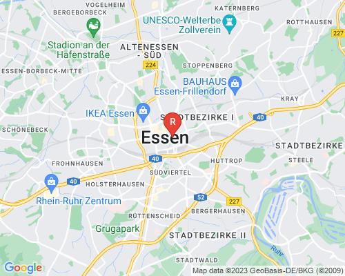 Google Karte von Rohrreinigung Essen