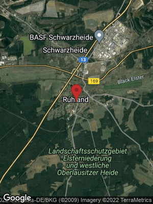 Google Map of Ruhland