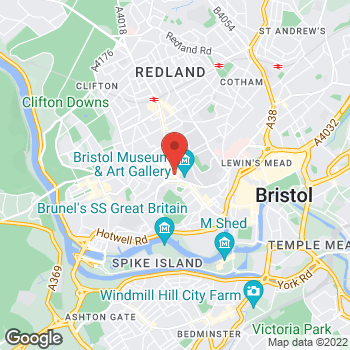 Map of wilko Clifton-Bristol at 48 - 56 Queens Road, Bristol,  BS8 1QE