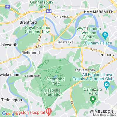 East Sheen Common Location