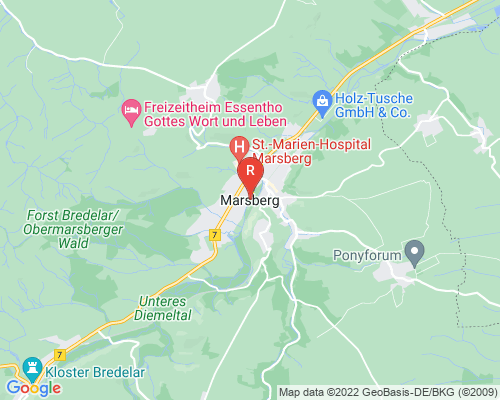 Google Karte von Rohrreinigung Marsberg