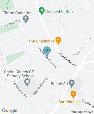 Map of location for Flourish Bristol