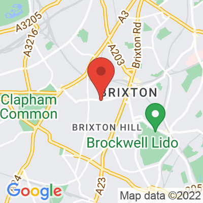 Map showing The Beast of Brixton