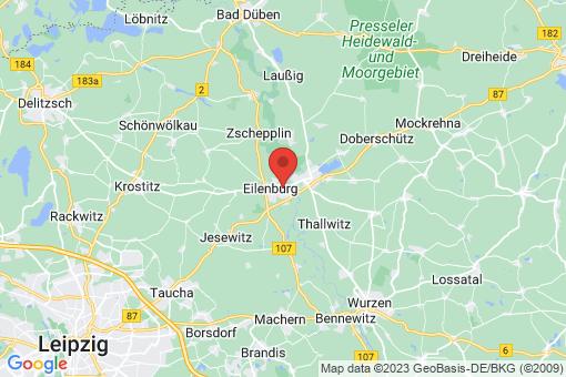 Karte Eilenburg