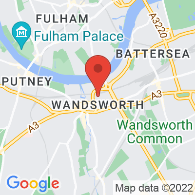 Map showing Frenchie Wandsworth