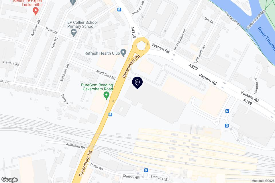 Queens Walk, Reading, RG1 7UA map