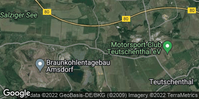 Google Map of Wansleben am See
