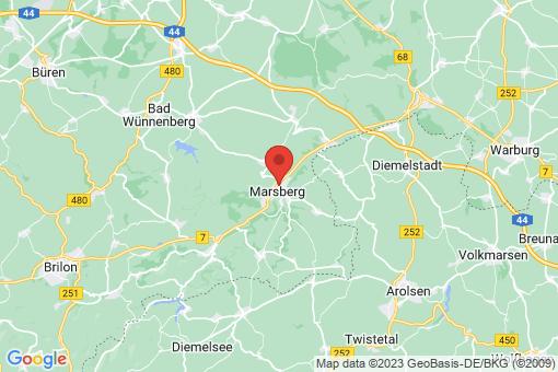 Karte Marsberg