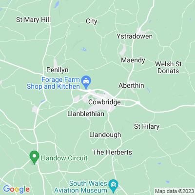 Cowbridge Physic Garden Location