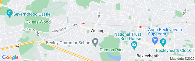 Map Of Welling