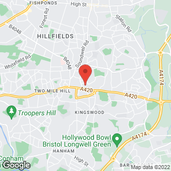 Map of wilko Kingswood at 12 Kings Chase Shopping Centre, Kingswood,  BS15 8LP