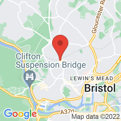 Map showing Spoke & Stringer (Clifton Down)