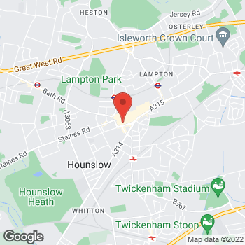 Map of wilko Hounslow at 42 The Treaty Centre, Hounslow,  TW3 1ES
