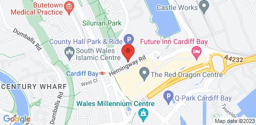 Directions to Bella Italia - Cardiff Atlantic Wharf