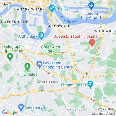 Blackheath, Lewisham Location