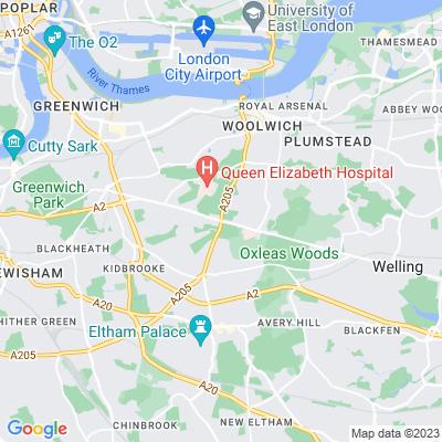 Eltham Common Location