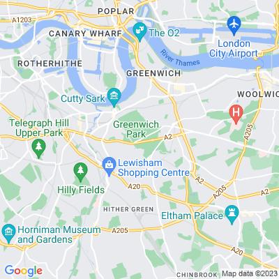 Greenwich Park Location