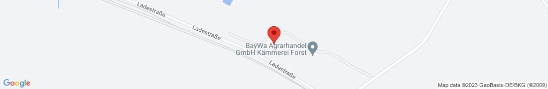 BayWa Agrar Kämmerei Forst Anfahrt