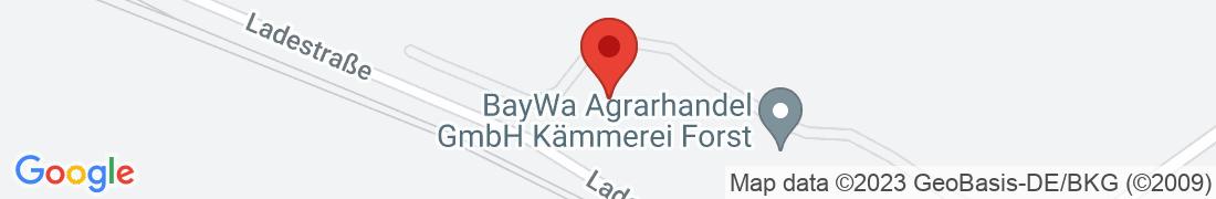 BayWa AG Kämmerei Forst Anfahrt