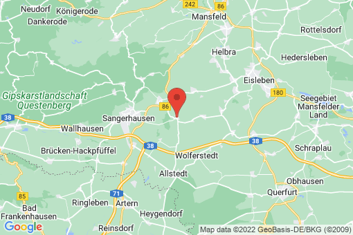 Karte Beyernaumburg