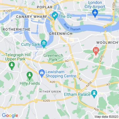 Blackheath, Greenwich Location