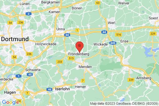 Karte Fröndenberg