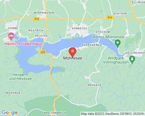 Google Karte von Rohrreinigung Möhnesee