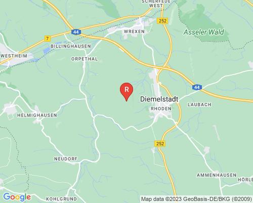Google Karte von Rohrreinigung Diemelstadt