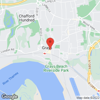 Map of wilko Grays at Unit 1 The Mall, Grays,  RM17 6QF
