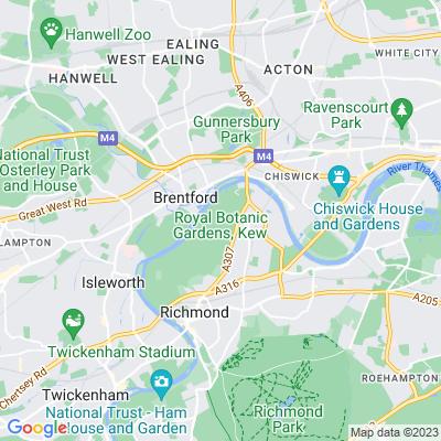 Royal Botanic Gardens, Kew Location