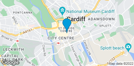 Map of 26 Grand Arcade, St David's Dewi Sant in Cardiff