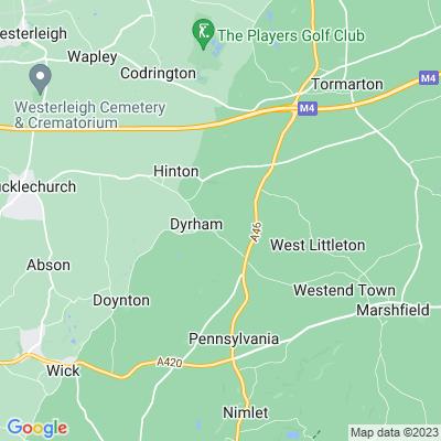 Dyrham Park, Dyrham and Hinton Location