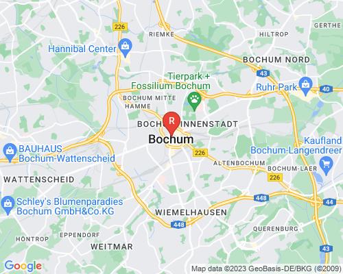 Google Karte von Rohrreinigung Bochum