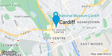 Map of 37 Queen Street in Cardiff