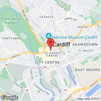 Map of wilko Queen St - Cardiff at Unit 4, Cardiff,  CF10 2AS