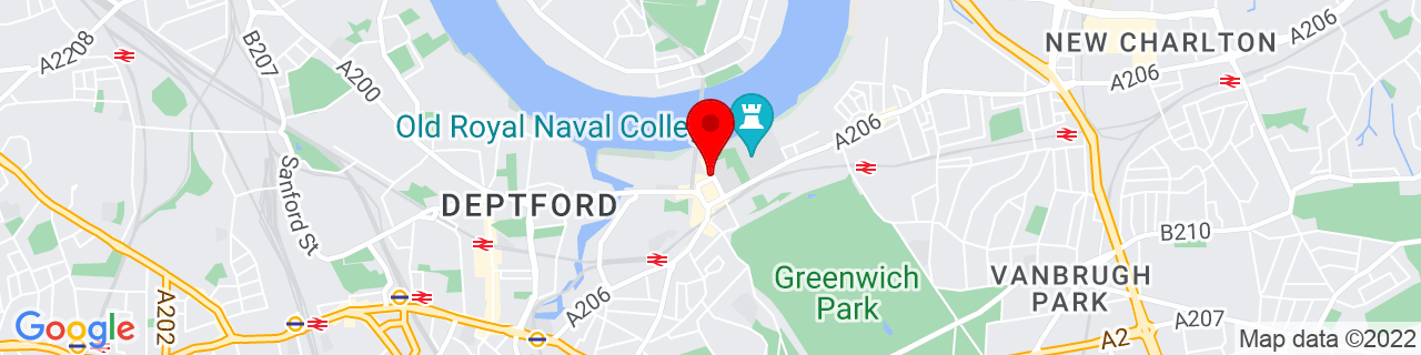 Google Map of 51.48218333333334, -0.00906388888888889