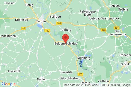 Karte Belgern