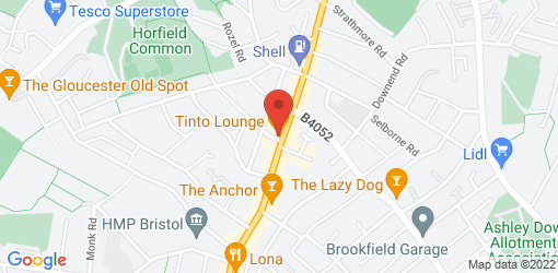 Directions to Tinto Lounge