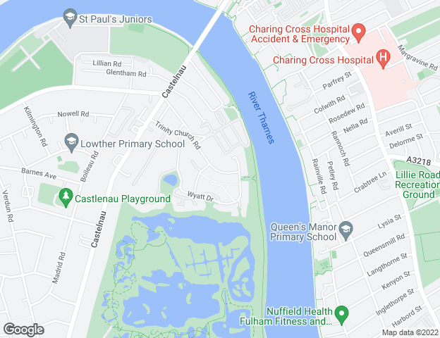 Property location static map