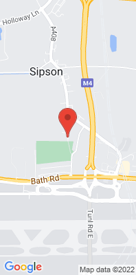 Map showing the location of the Hillingdon Sipson monitoring site