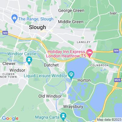 Ditton Park Location