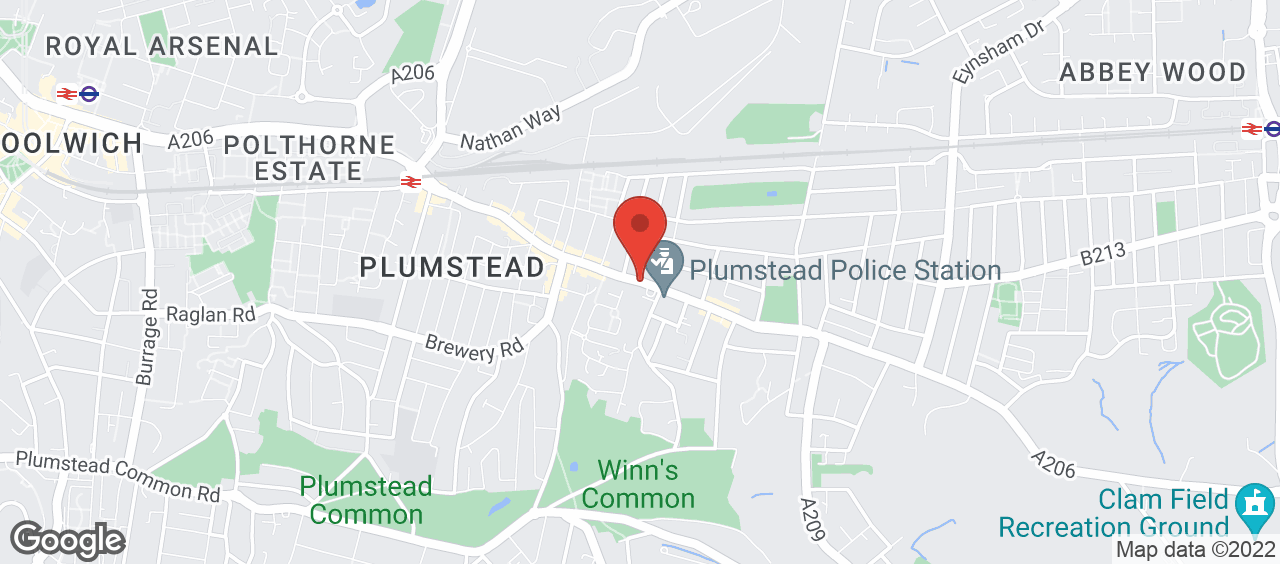 The Plumstead Centre location and directions