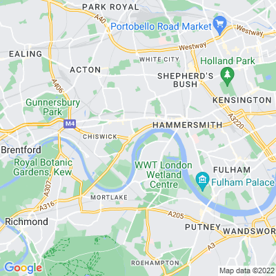 Thames Path (Hammersmith & Fulham section) Location