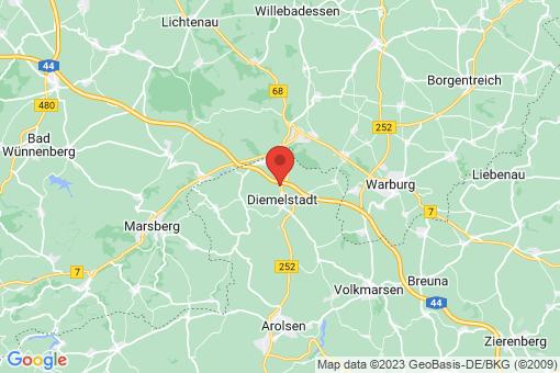 Karte Diemelstadt