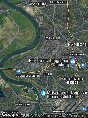 Google Map of Bruckhausen