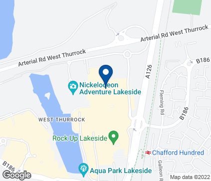 Map of 74-75 Lakeside Shopping Centre in West Thurrock