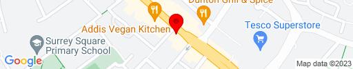 Map of KTA Steak House