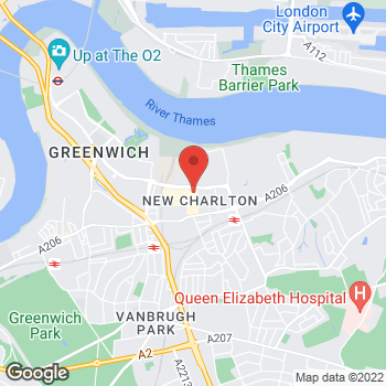 Map of Wilko Greenwich at 9/10 Greenwich Shopping Park, Greenwich,  SE7 7ST