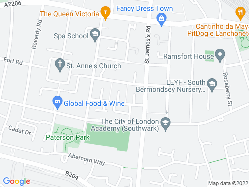 Map of Langdon Way